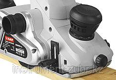 Рубанок электрический (электрорубанок), ЗУБР ЗР-1100-110, глубина 3.5 мм, 16000 об/мин, 110 мм, 1100 В, фото 3