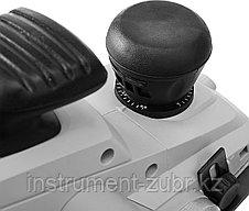 Рубанок электрический (электрорубанок), ЗУБР, станина, глубина 3.5 мм, 16000 об/мин, 110 мм, 1300 Вт, фото 2