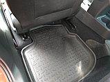 Резиновые коврики с высоким бортом для Volkswagen Polo VI 2020-н.в., фото 3