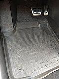 Резиновые коврики с высоким бортом для Volkswagen Polo VI 2020-н.в., фото 2