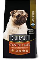 Sensitive Mini для собак мелких пород с ягненком, Cibau, уп. 800гр.