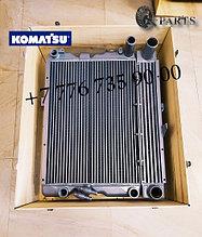 Радиатор в сборе, экскаватор погрузчик, Komatsu WB93, Komatsu WB97