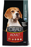 Adult Medium для средних пород с ягненком, Cibau, уп. 2,5 кг.