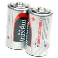 Батарейки солевые Maxell, R14, C SHRINK