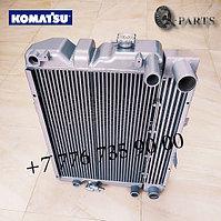 Радиатор для экскаватора погрузчика (Коматсу) Komatsu WB93S, WB93R, WB97S, WB97R.