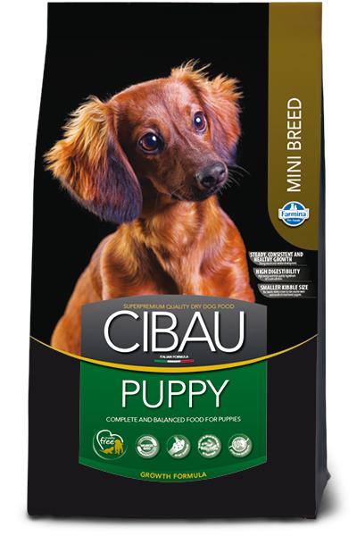 Puppy Mini для щенков мелких пород с курицей, Cibau, уп.2,5кг.