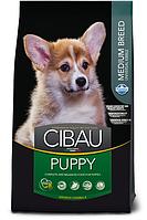 Puppy Medium для щенков средних пород с курицей, Cibau, уп. 2,5кг.