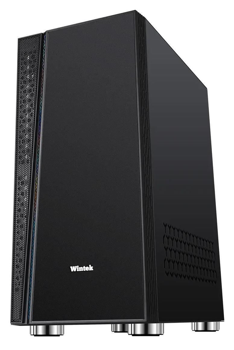 Корпус Wintek Dream K209 TG, ATX/Micro ATX, USB 1*3.0/2*2.0, 0,55 mm, 1*12cm SR Fan