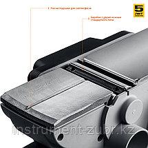 Рубанок электрический (электрорубанок), ЗУБР ЗР-750-82, глубина 2.0 мм, 82 мм, 16 000 об/мин, 750 Вт, фото 2