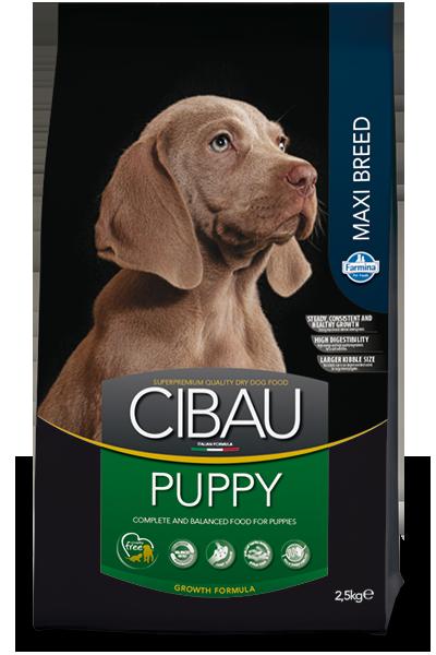 Puppy Maxi для щенков крупных пород с курицей, Cibau, уп. 2,5кг.