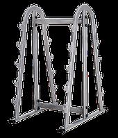 Подставка для грифов Bronze Gym H-039 (Серый)