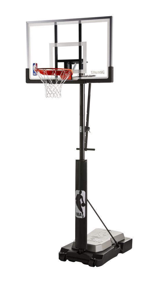 Мобильная баскетбольная стойка Spalding 60 Ultimate Hybrid JUNIOR 70354CN