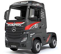 Электромобиль Barty Mercedes-Benz Actros HL358 (черный глянец)