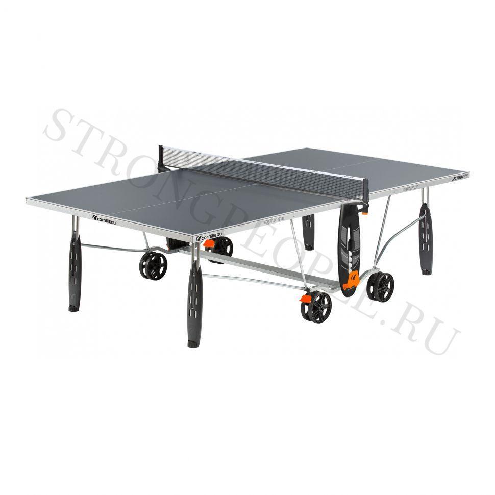 Теннисный стол всепогодный Cornilleau X-TREM Crossover серый