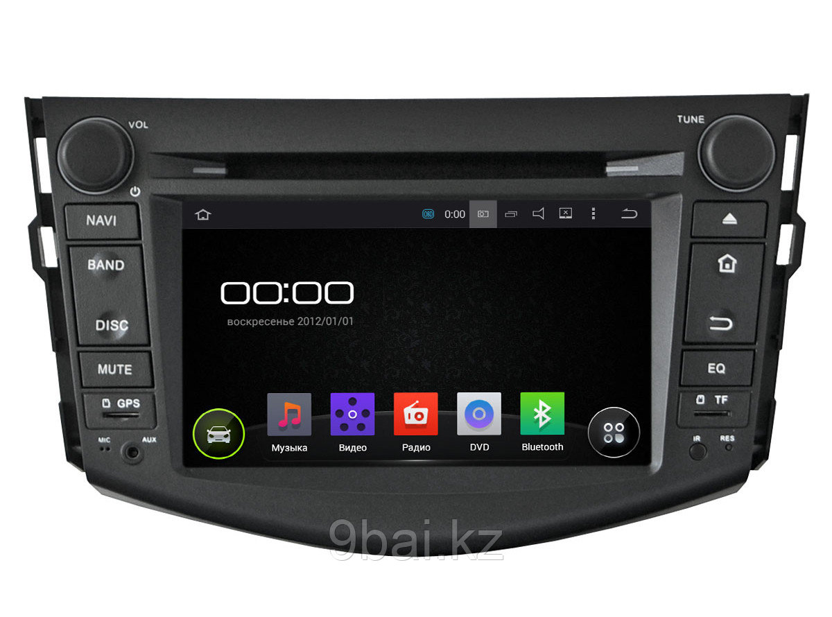 "ШГУ Toyota RAV4 06-12 (INCAR AHR-2253) Android 5.1/1024*600,wi-fi, 7"""