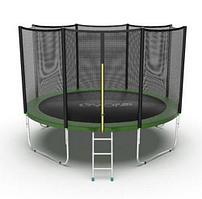 Батут EVO Jump External 12ft (Зеленый)