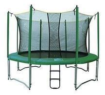 Батут Fun Tramps 12'  диаметр 3,7 метра с сеткой и лестницей