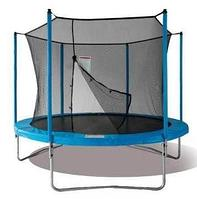 Батут Jun Tramps 8' диаметр 2,4 метра с защитной сетью