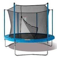 Батут Jun Tramps 10' диаметр 3,0 метра с сеткой и лестницей