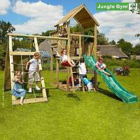 Детский городок Jungle Gym Palace + Climb Module Xtra