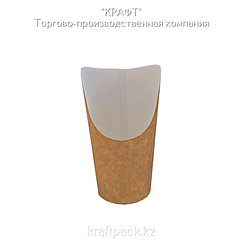 Стакан под Snack 400мл Крафт (25/300)