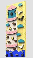Детский скалодром Маяк (ширина 1,2 метра) (Синий)