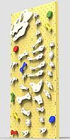 Детский скалодром Динозавр Рекс (ширина 1,2 метра) (Желтый)
