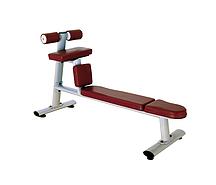 Скамья для скручиваний горизонтальная Bronze Gym H-035