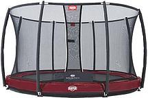 Батут Berg Elite InGround Red 380 с сеткой Safety Net Deluxe