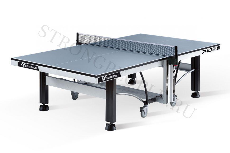Теннисный стол профессиональный Cornilleau Competition 740W ITTF (Серый)