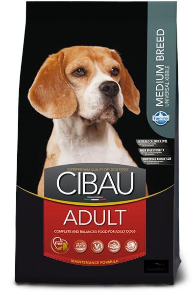 Adult Medium для средних пород с курицей, Cibau, уп.12 кг.