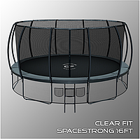Батуты Clear Fit SpaceStrong 16ft, фото 1
