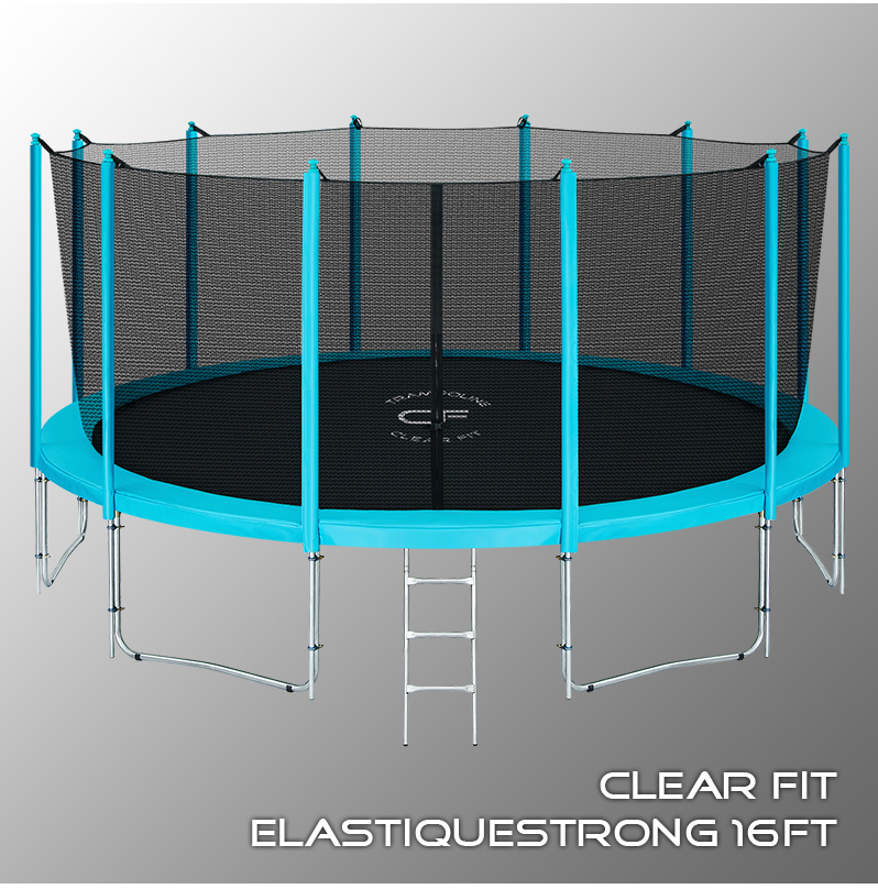 Батуты Clear Fit ElastiqueStrong 16ft