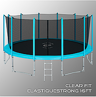 Батуты Clear Fit ElastiqueStrong 16ft, фото 1