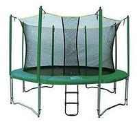 Батут Super Tramps Bounce 14 диаметр 4,3 метра с сеткой и лестницей