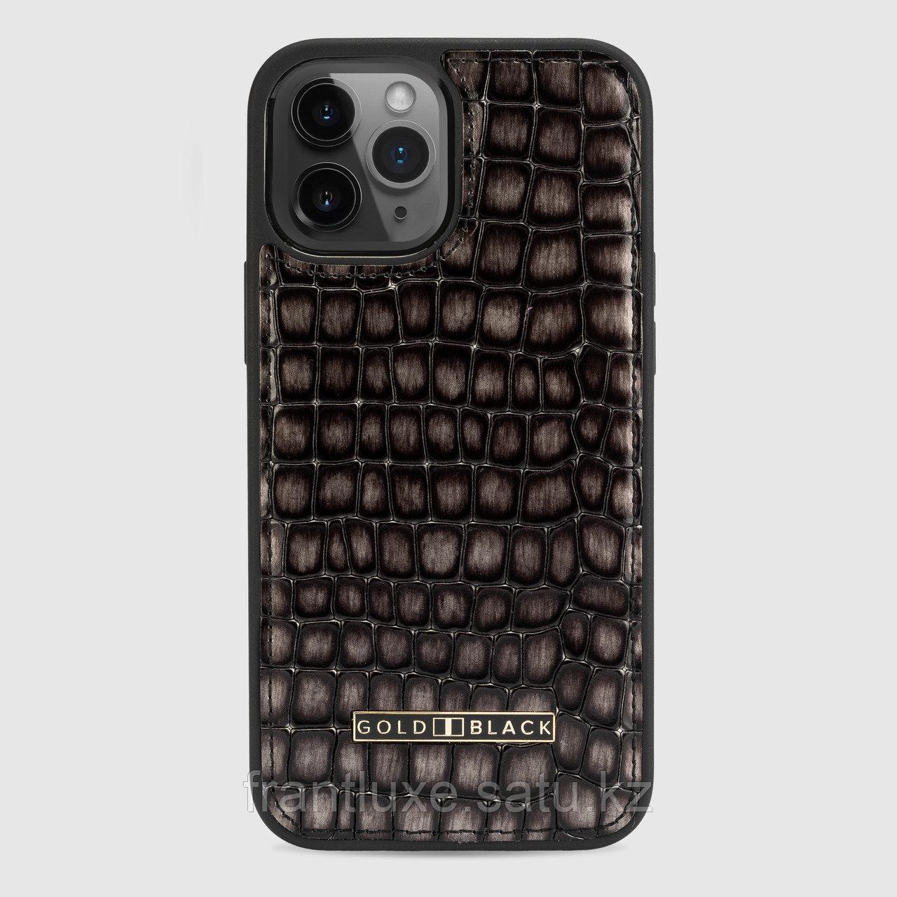 Чехол для телефона iPhone 12 Pro Max серый - фото 1