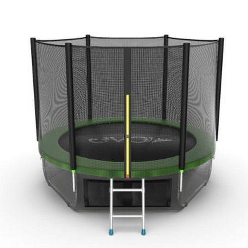 Батут EVO Jump External 8ft + Lower net (Зеленый)