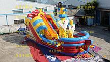 Надувной корабль Attro Веселый Роджер
