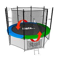 Батут Unix line 8 ft inside (Зеленый), фото 1