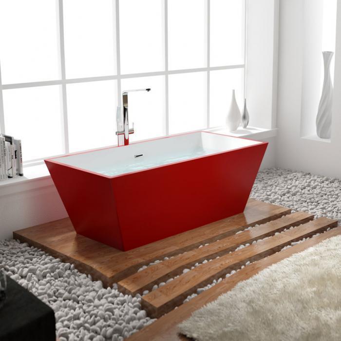 Ванна акриловая свободностоящая QUADRO 170х61