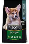 Puppy Medium для щенков средних пород с курицей, Cibau, уп.12 кг.