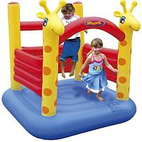Детский надувной батут Happy Hop 8304 (Жирафик)