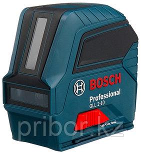 Лазерный профессиональный нивелир Bosch GLL 2-10. Внесен в реестр СИ РК