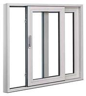 Портальные алюминиевые окна, фото 1