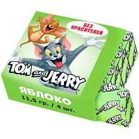 Жевательная конфета Tom&Jerry, яблоко, 11,5г