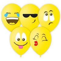 """Воздушные шары, 25шт., М12/30см, Поиск """"Эмоции"""", 3цв., пастель, шелк"""