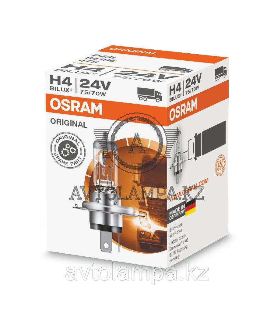 94196 Лампа OEM света H4 24V 75/70W P43t Original Line уп.1шт. - фото 1