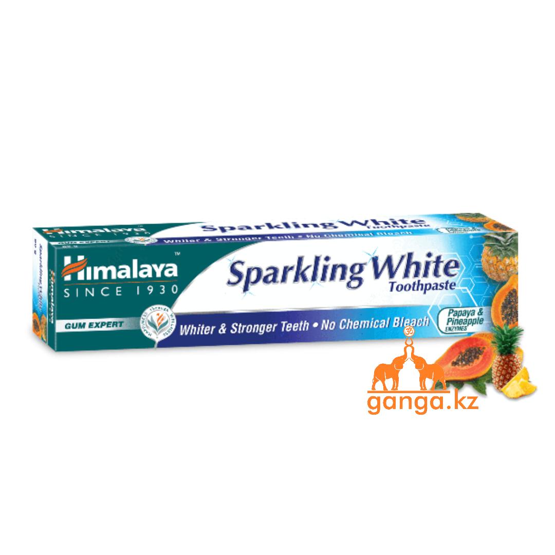 "Зубная паста ""Сверкающая белизна"" (Sparkling White HIMALAYA), 150 г."