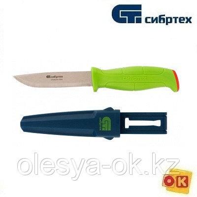 """Нож туристический """"поплавок"""" для туристов, рыбаков и садоводов, 230 мм Сибртех"""