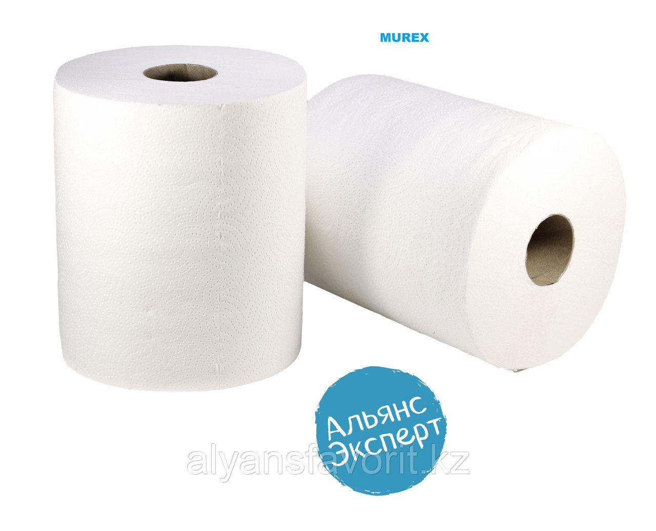 Бумажные полотенца рулонное 2-х слойные, 75 м. 6 рул. в уп.